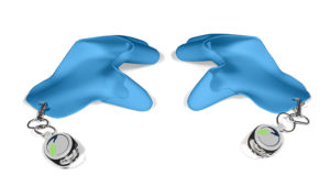 tatschi Glove blue   Set