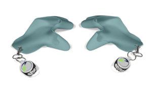 tatschi Glove light turquoise   Set