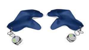 tatschi Glove navy   Set